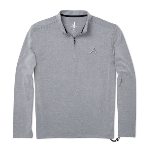 Braves Brady Fleece 1/4 Zip Pullover