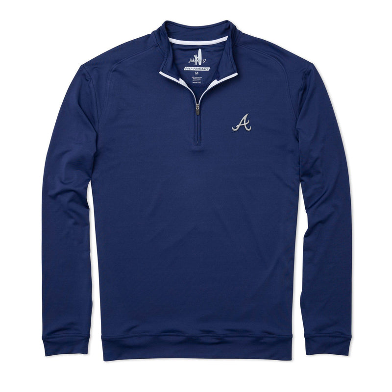 Braves Flex PREP-FORMANCE 1/4 Zip Pullover