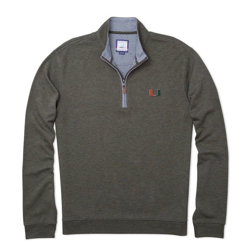 University Of Miami Sully 1/4 Zip Pullover
