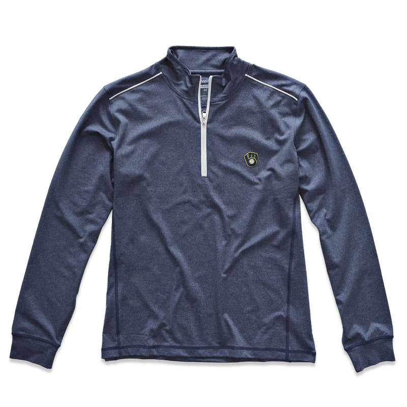 Brewers Lammie 1/4 Zip PREP-FORMANCE Pullover