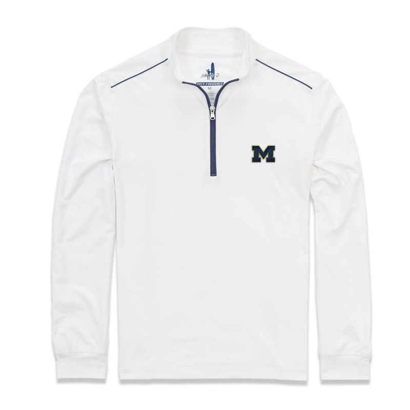 University Of Michigan Lammie 1/4 Zip PREP-FORMANCE Pullover