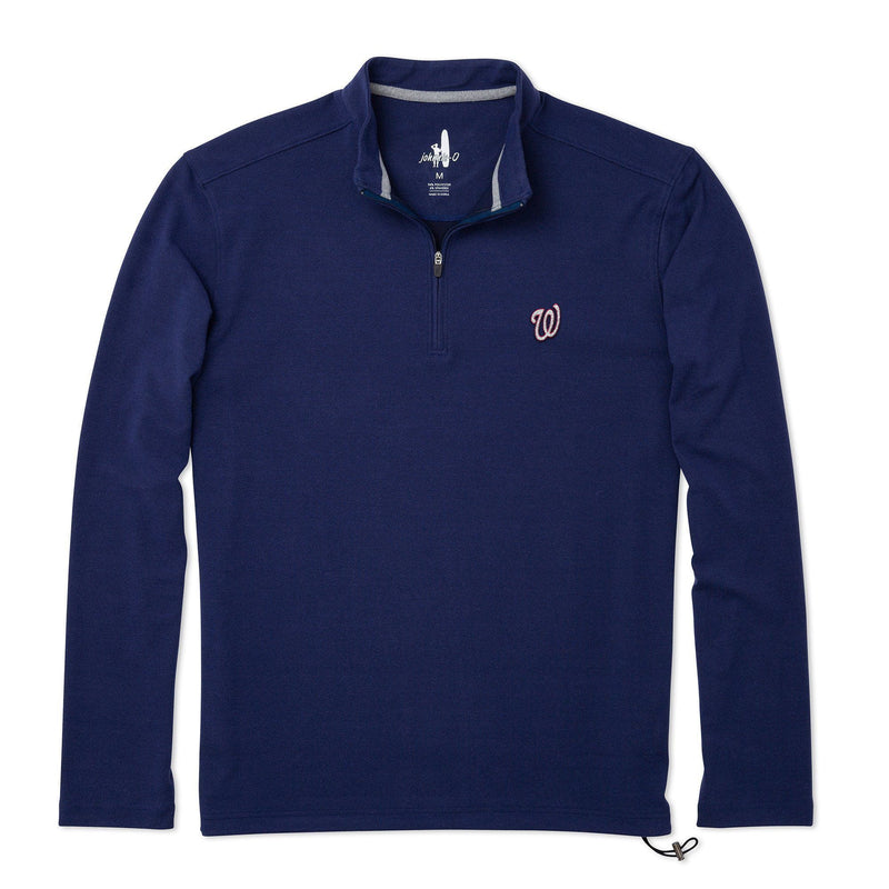 Nationals Brady Fleece 1/4 Zip Pullover
