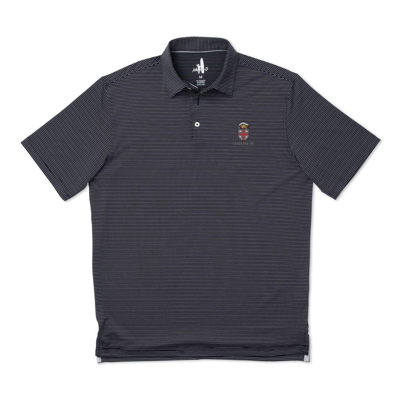 Brown University Albatross PREP-FORMANCE Striped Polo