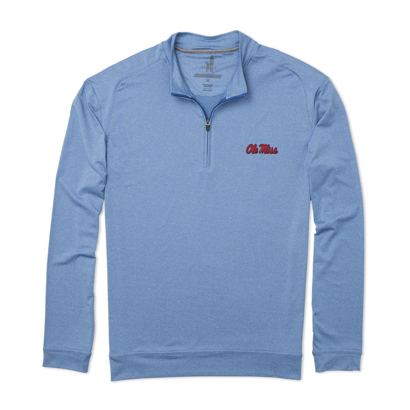 University of Mississippi Flex PREP-FORMANCE 1/4 Zip Pullover