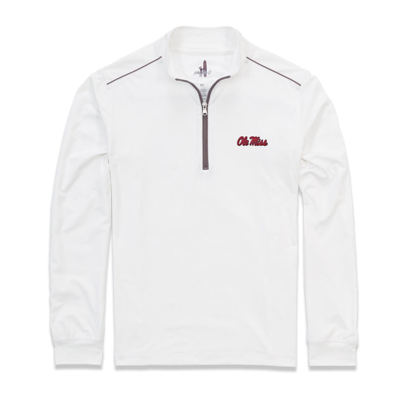 University of Mississippi Lammie 1/4 Zip PREP-FORMANCE Pullover