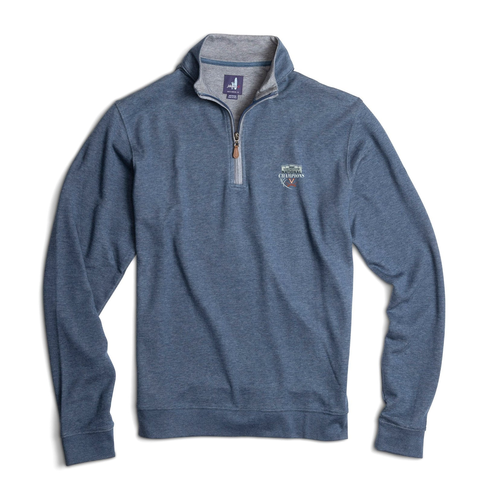 82344c75fccf15 University of Virginia National Champions Sully 1/4 Zip Pullover ...