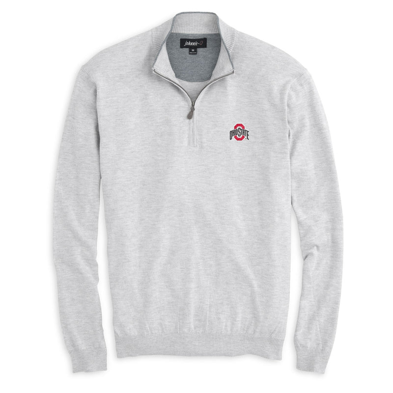 Ohio State University Bailey 1/4 Zip Sweater