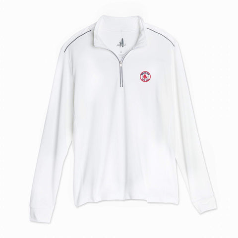 Red Sox Cooperstown Lammie 1/4 Zip PREP-FORMANCE Pullover