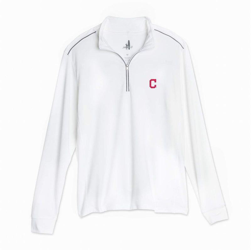 Indians Lammie 1/4 Zip PREP-FORMANCE Pullover