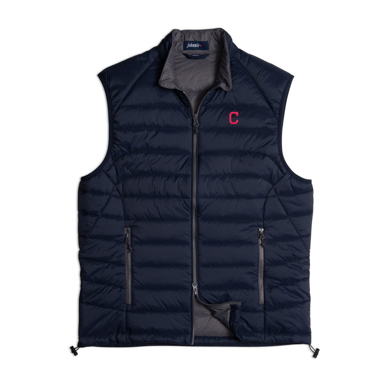 Indians Straits Quilted 2-Way Zip Front Vest