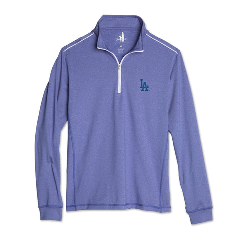 Dodgers Lammie 1/4 Zip PREP-FORMANCE Pullover