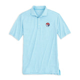 San Diego Crew Classic Lyndon Striped PREP-FORMANCE Polo