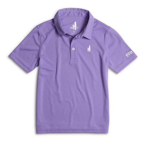 TCU Fairway Jr. Prep-Formance Polo