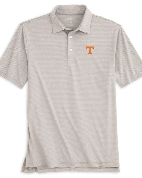 University of Tennessee Lyndon Striped PREP-FORMANCE  Polo