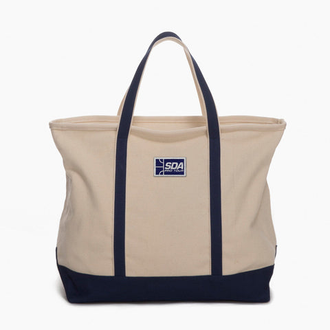 Squash Doubles Association Zip Top Tote