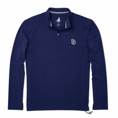 Padres Brady Fleece 1/4 Zip Pullover