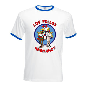 """Los Pollos Hermanos""  Breaking Bad T-shirt"
