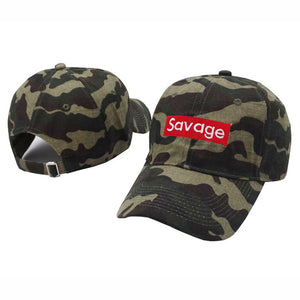 """Supreme"" style Savage Dad Cap"