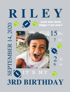 Canvas  Wraps for Birthday Milestones: 6 PLAYFUL Themes to choose from