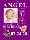 Canvas Wraps for Birthday Milestones: 6 COLORFUL Themes to choose from