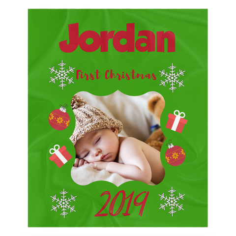 Personalized Holiday Blankets