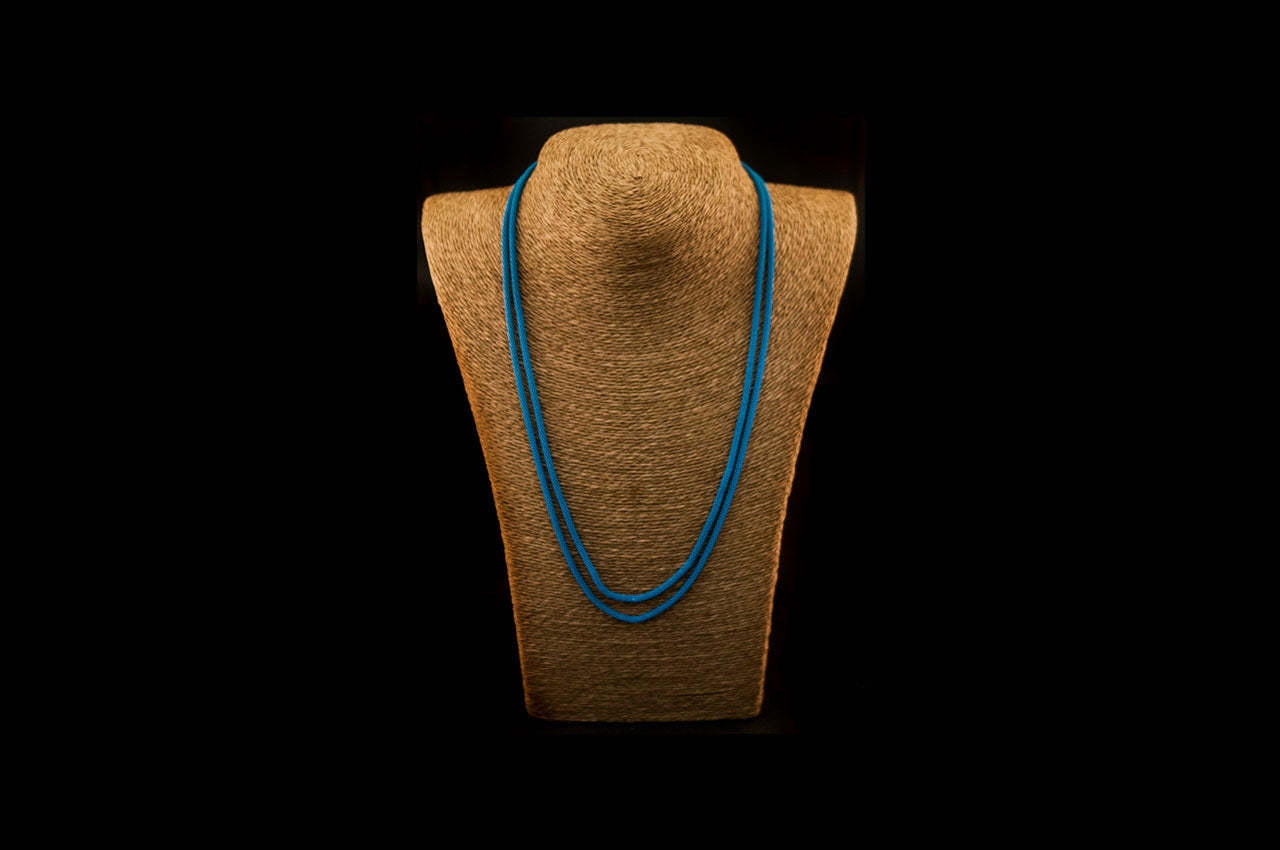 6035NE050 - Ocean Blue String Necklace