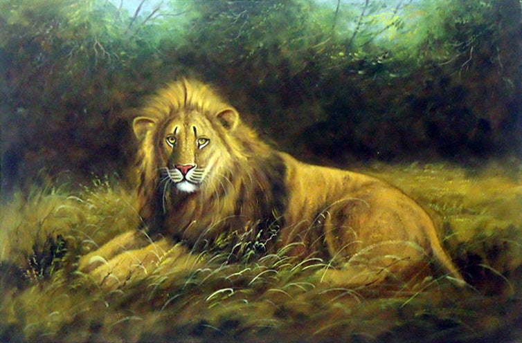 "AN3618085 - 24""x36"" Original Oil Painting"