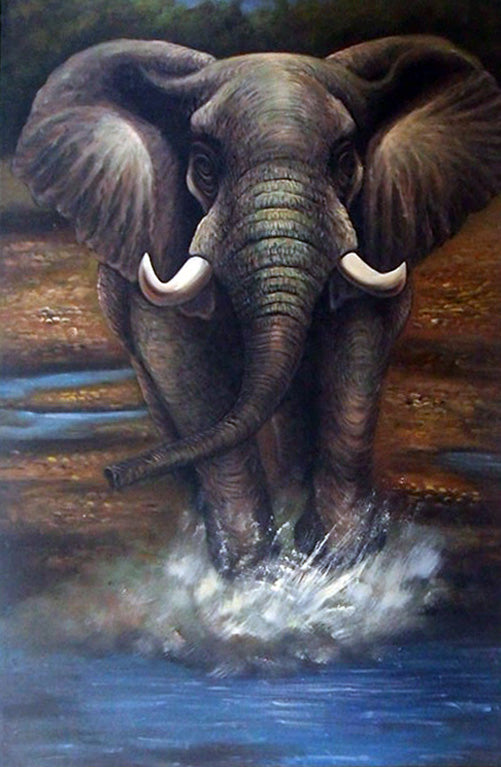"AN3618209 - 24""x36"" Original Oil Painting"