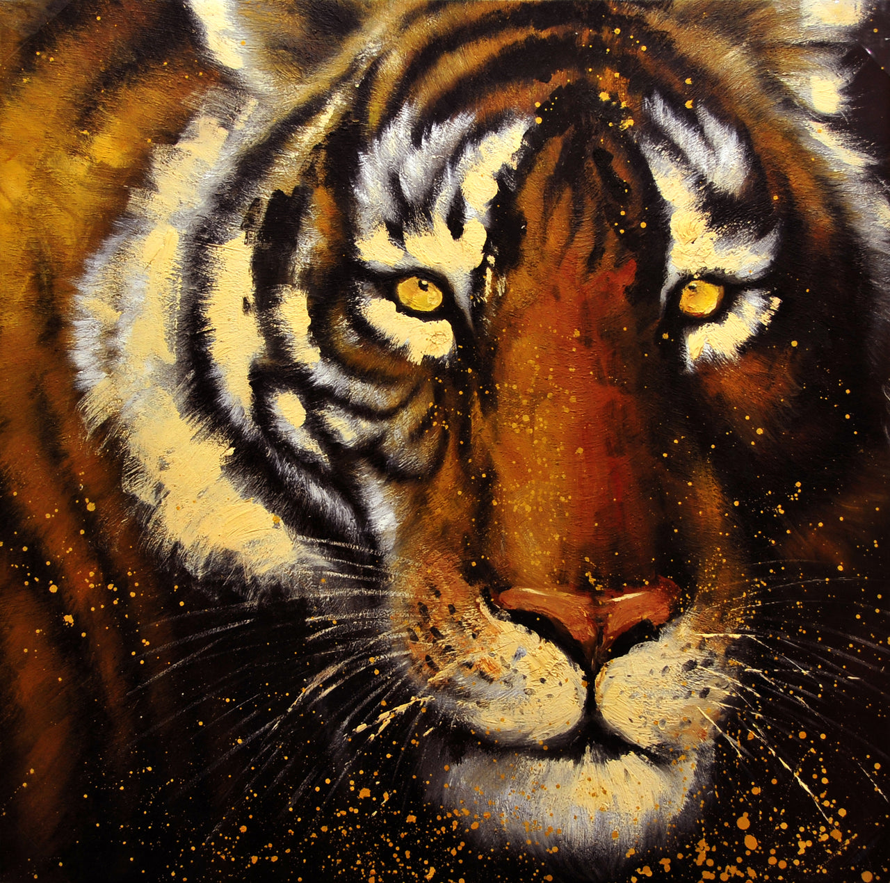 "AN3717491 - 36""x36"" Original Oil Painting"