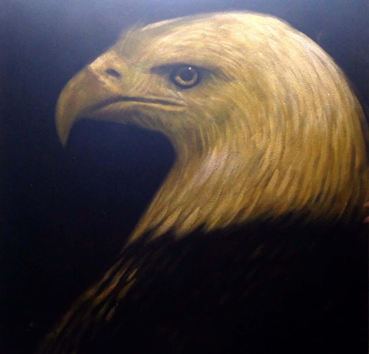 "AN4020423 - 40""x40"" Original Oil Painting"