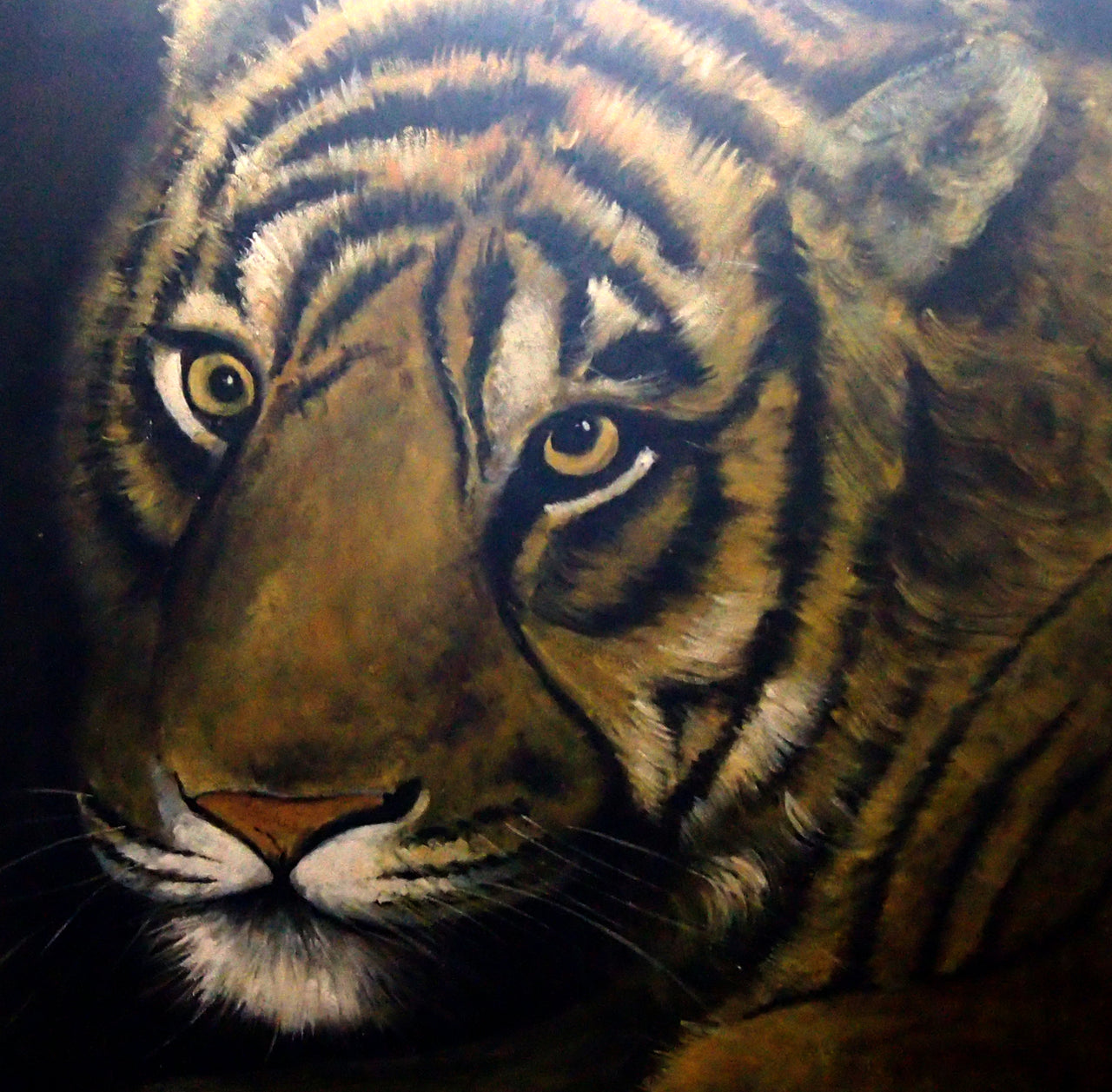 "AN4020428 - 40""x40"" Original Oil Painting"