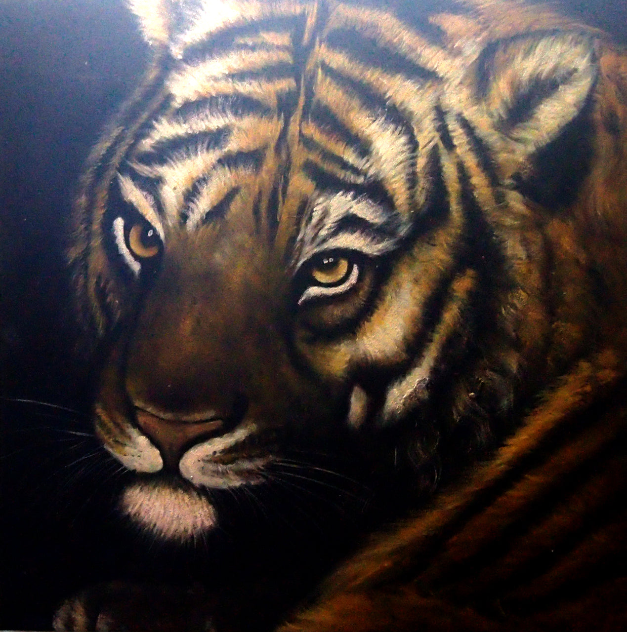 "AN4020442 - 40""x40"" Original Oil Painting"