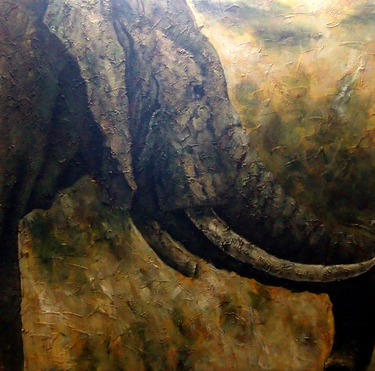 "AN4020447 - 40""x40"" Original Oil Painting"