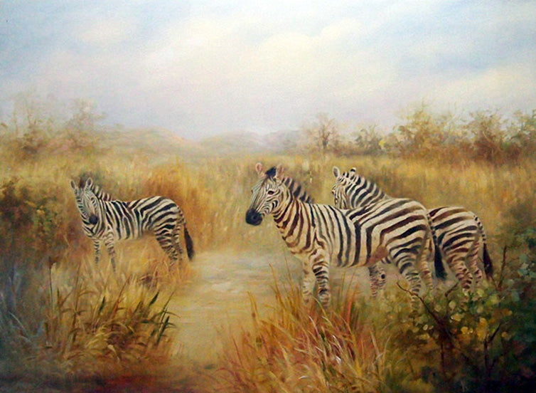 "AN4818348 - 36""x48"" Original Oil Painting"