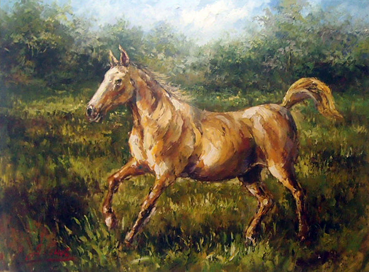 "AN4818382 - 36""x48"" Original Oil Painting"