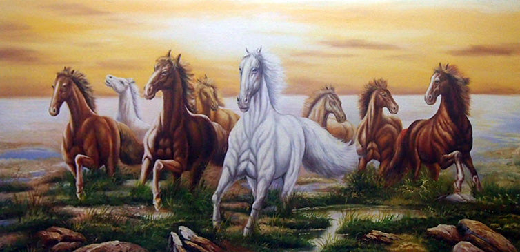 "AN6118933 - 30""x60"" Original Oil Painting"