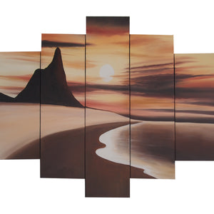 BBTT20501 - Triptych Original Oil Painting