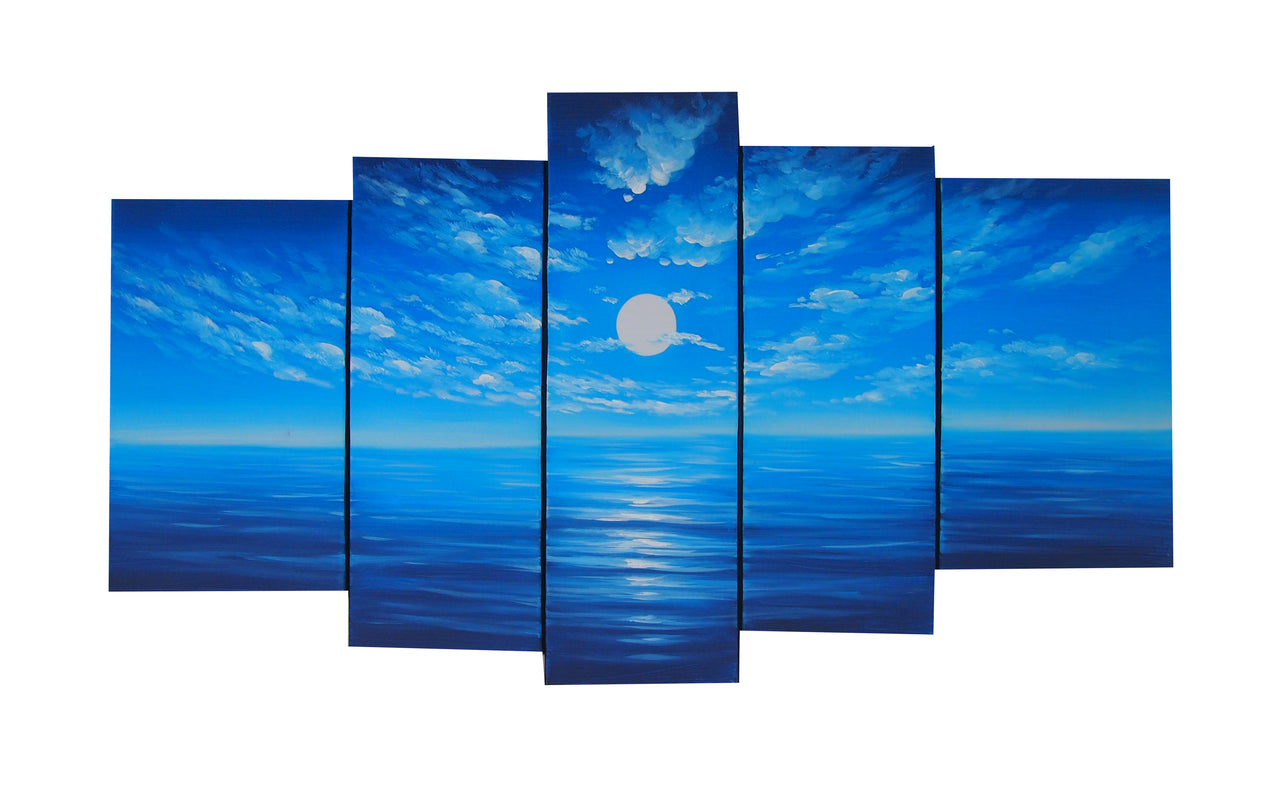 BBTT20544 - Triptych Original Oil Painting