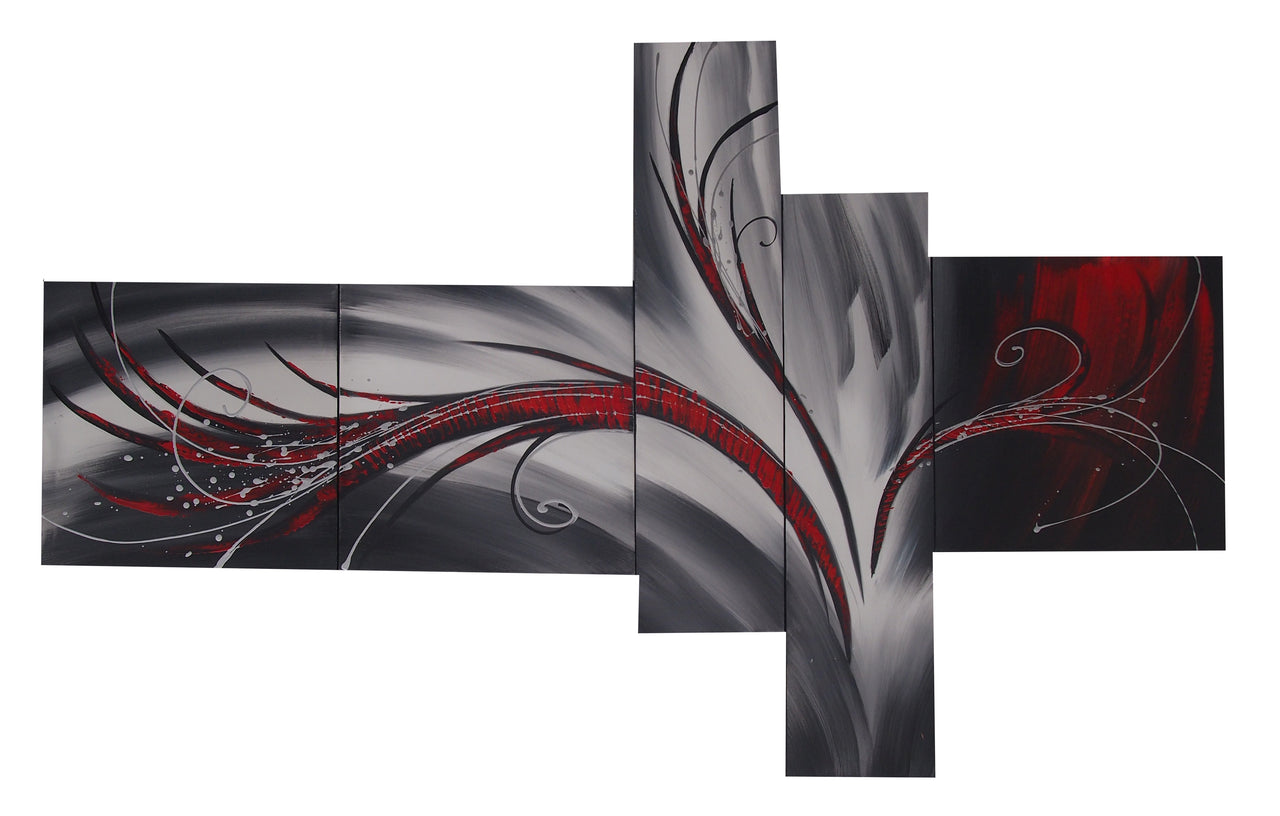 CTTT20464 - Triptych Original Oil Painting