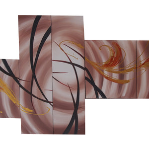 CTTT20476 - Triptych Original Oil Painting