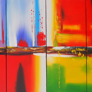 CTTT20483 - Triptych Original Oil Painting