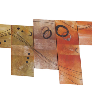 CTTT20496 - Triptych Original Oil Painting