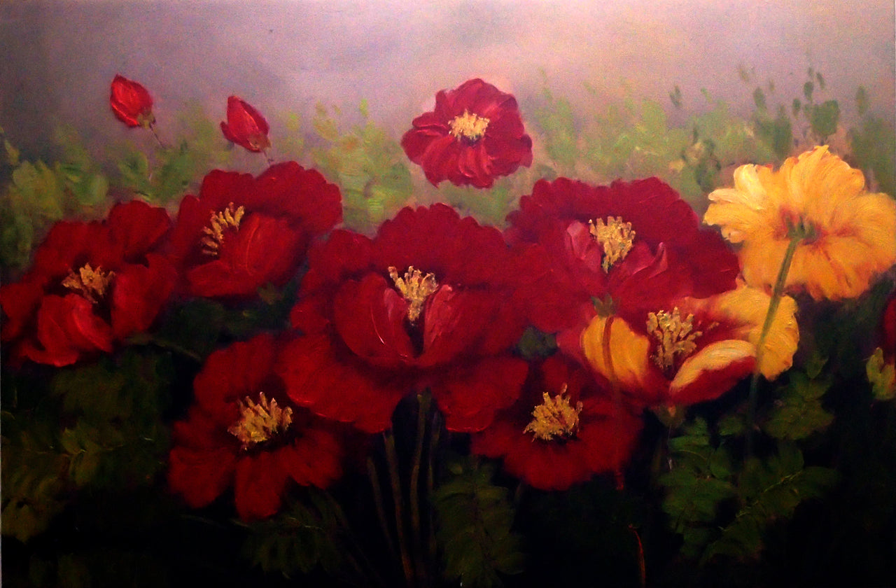 "FL3619861 - 24""x36"" Original Oil Painting"