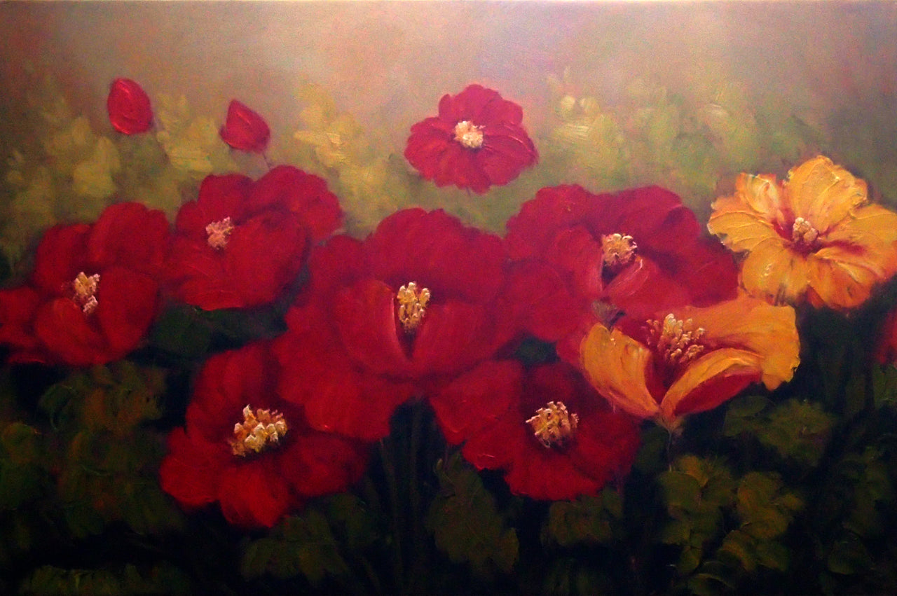 "FL3619888 - 24""x36"" Original Oil Painting"
