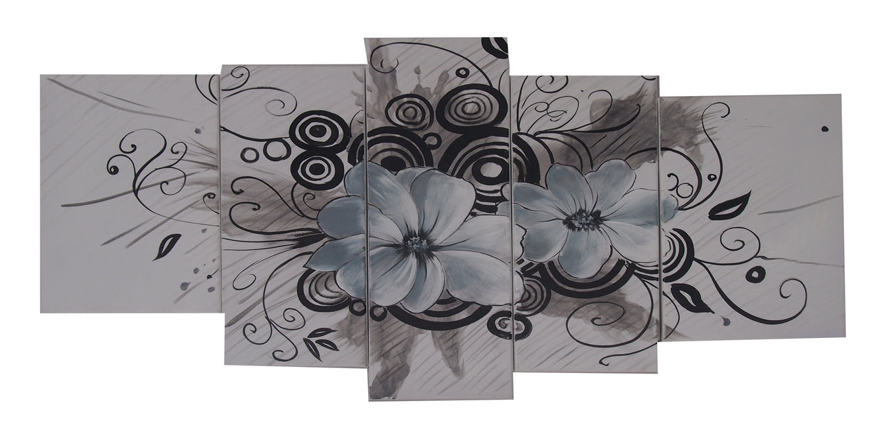 FLTT20526 - Triptych Original Oil Painting
