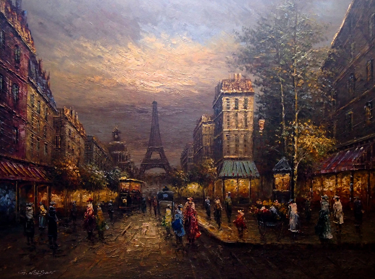 "FR4819624 - 36""x48"" Original Oil Painting"