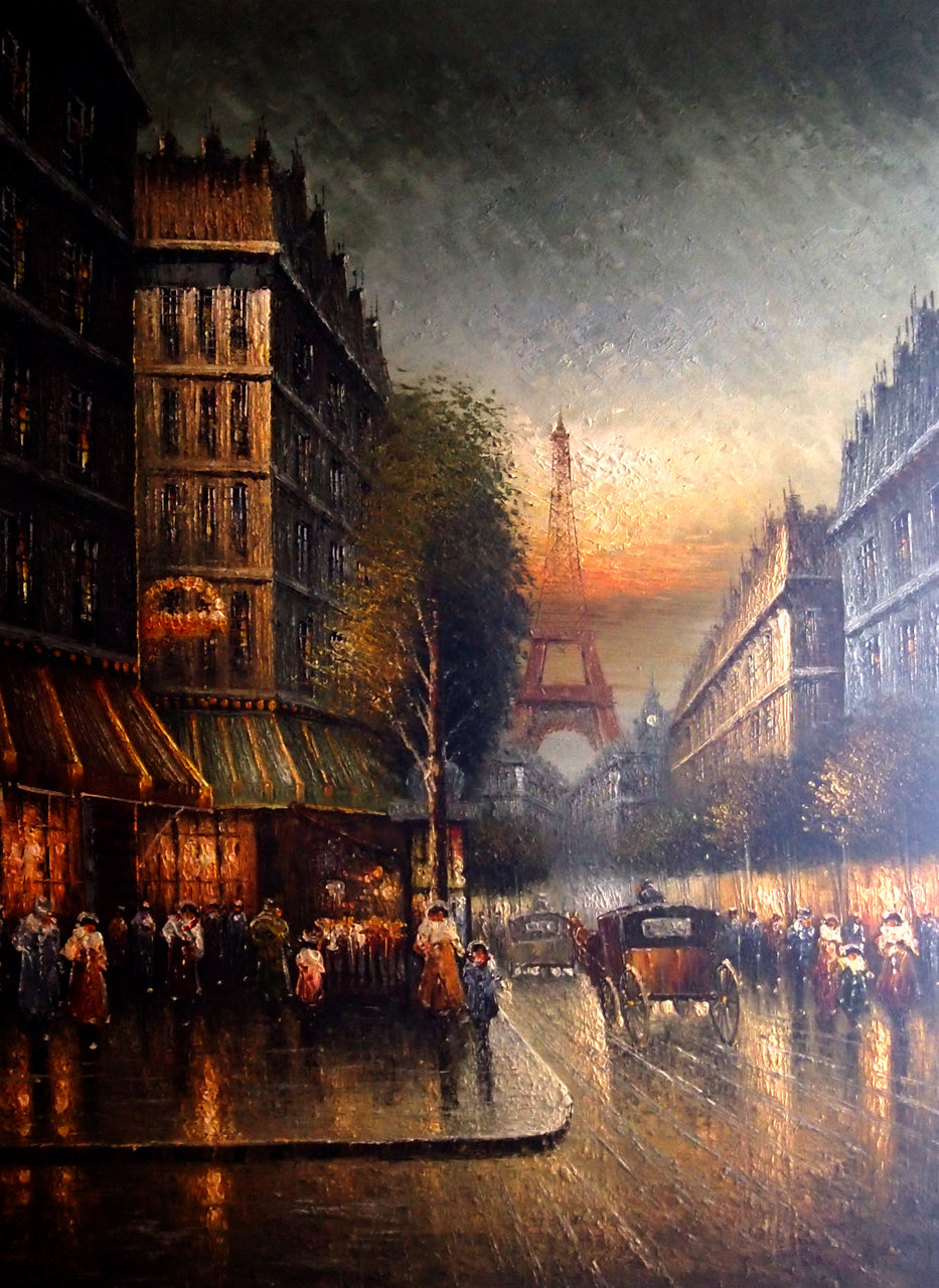 "FR4819712 - 36""x48"" Original Oil Painting"