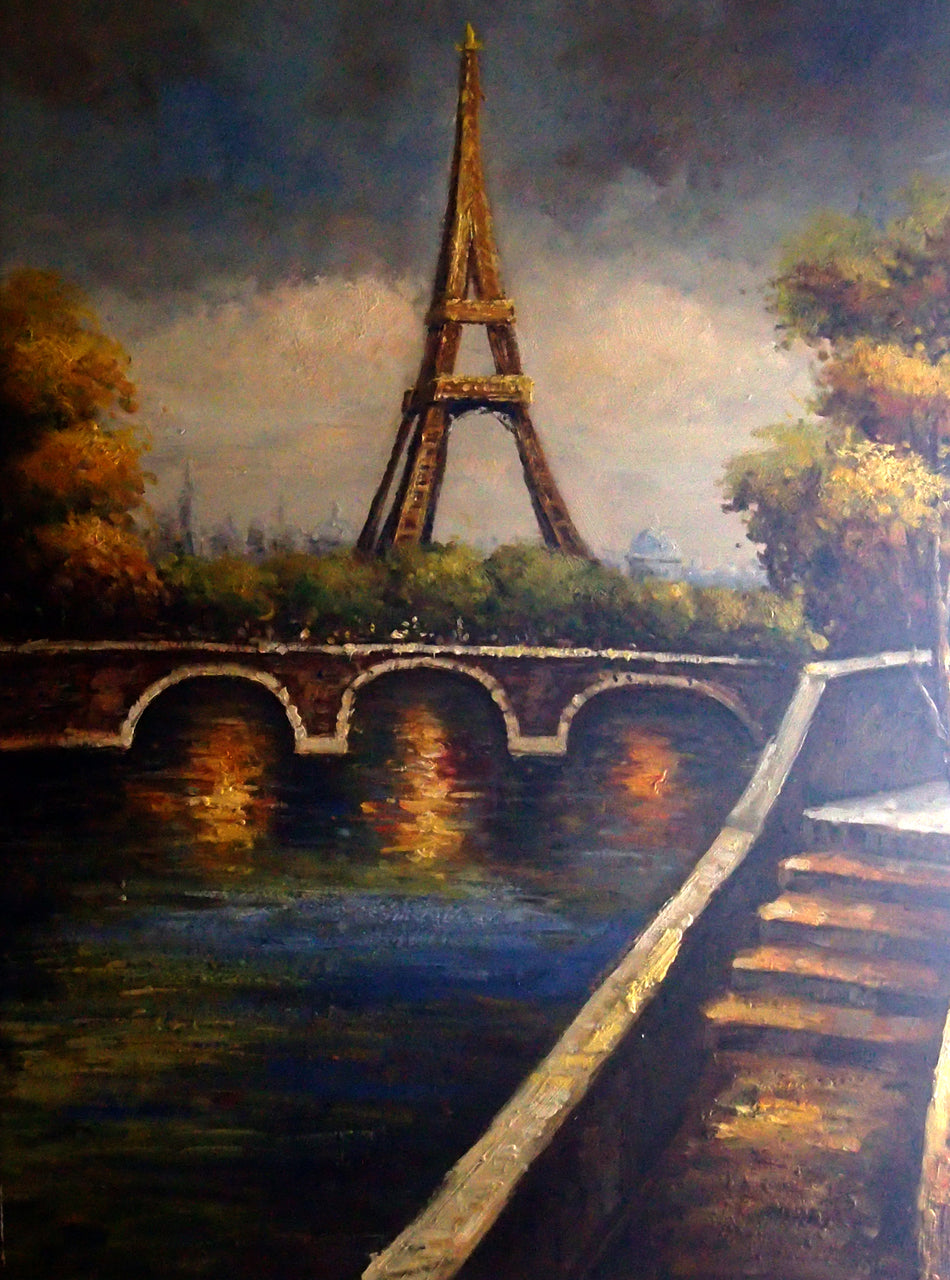 "FR4820554 - 36""x48"" Original Oil Painting"
