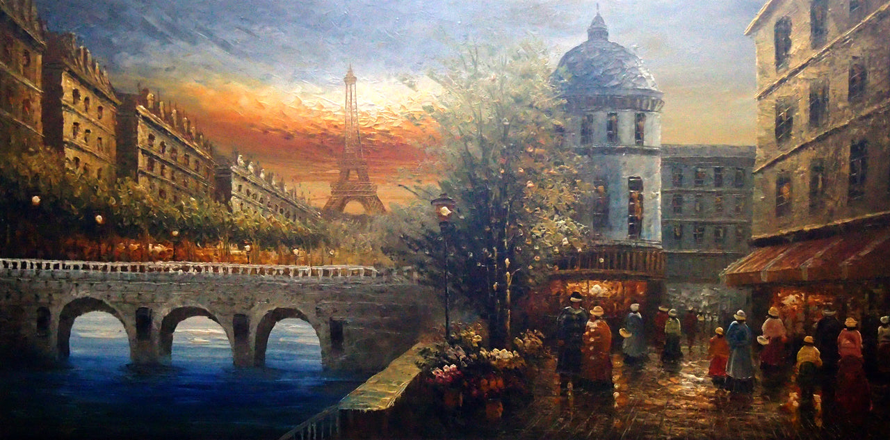 "FR5020580 - 24""x48"" Original Oil Painting"