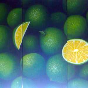 FWTT19310 - Triptych Original Oil Painting